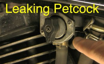 How to Fix a Leaking Petcock Valve