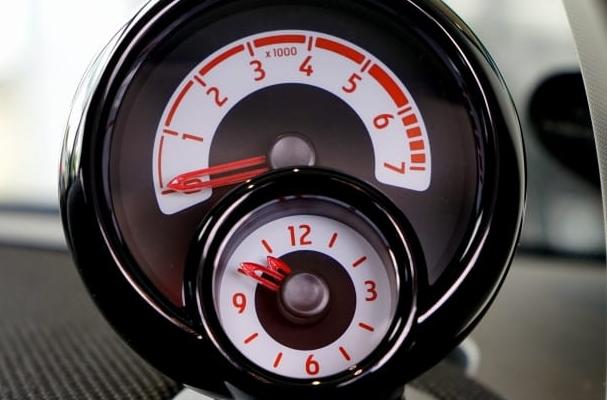 ATV speedometer